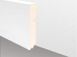 Cube - Sockelleiste, weiß
